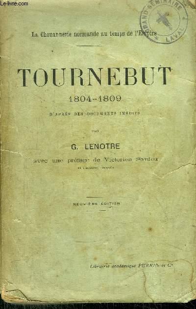 TOURNEBUT 1804-1809