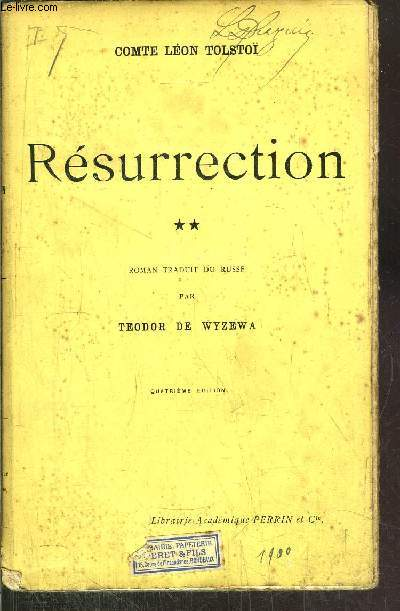 RESURRECTION - TOME II