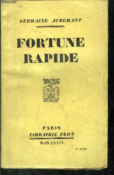 FORTUNE RAPIDE