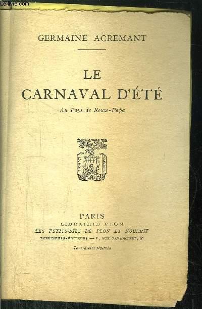 LE CARNAVAL D'ETE