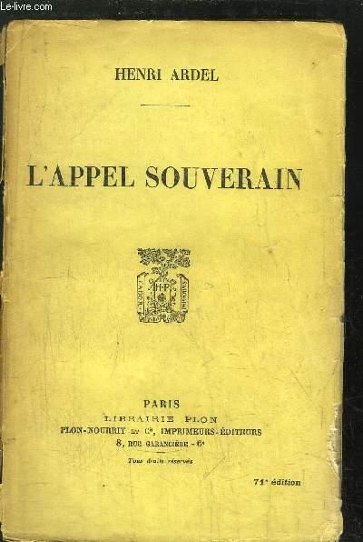 L'APPEL SOUVERAIN