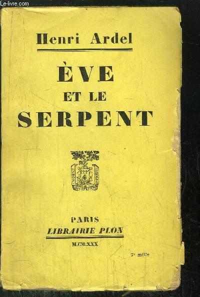 EVE ET LE SERPENT