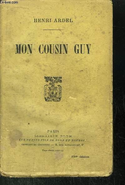 MON COUSIN GUY