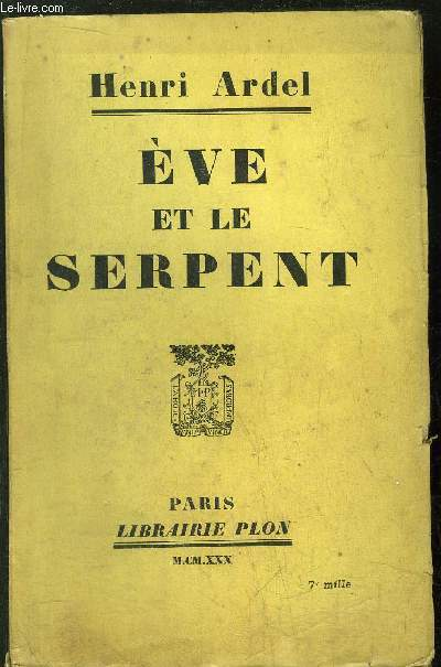 EVE ET LE SERPENT
