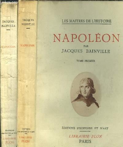 NAPOLEON - 2 VOLUMES -TOME I+II