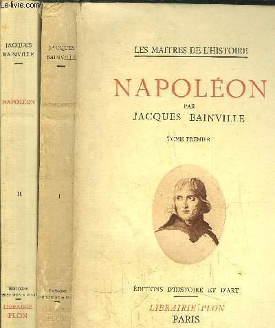 NAPOLEON - 2 VOLUMES - TOME I+II
