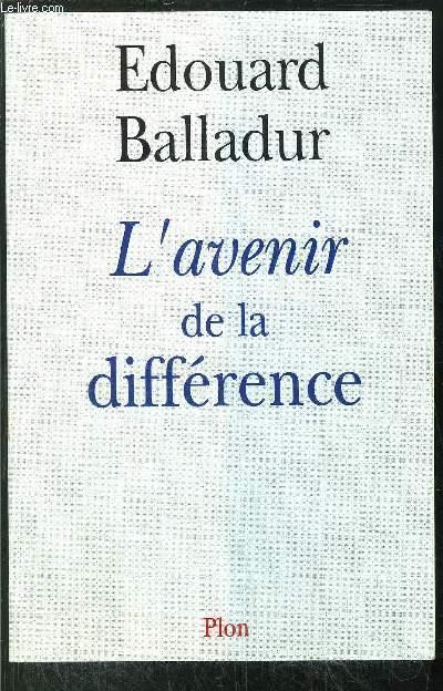 L'AVENIR DE LA DIFFERENCE