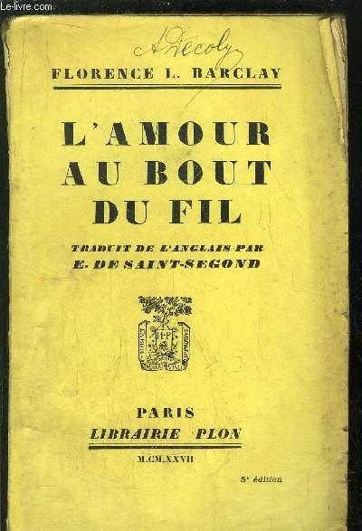 L'AMOUR AU BOUT DU FIL