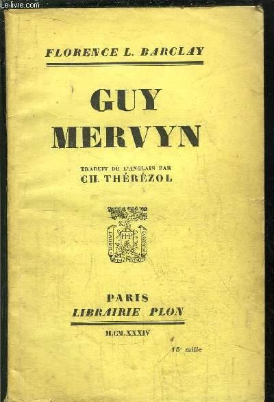 GUY MERVYN