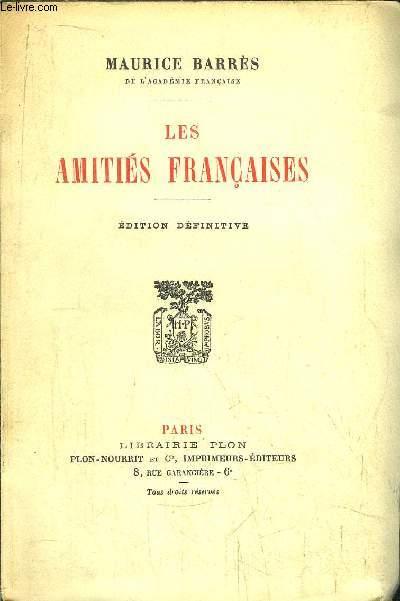 LES AMITIES FRANCAISES