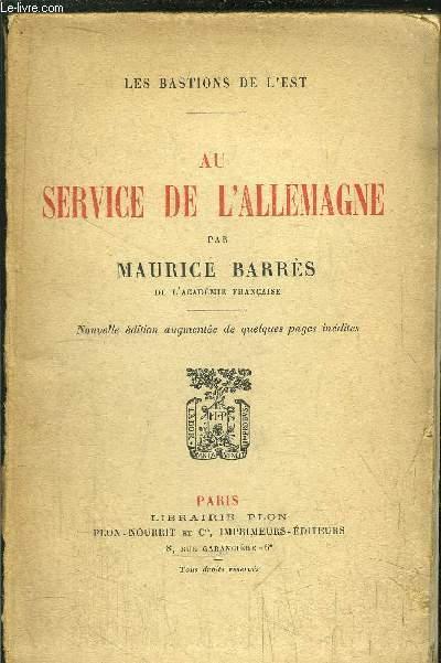 AU SERVICE DE L'ALLEMAGNE