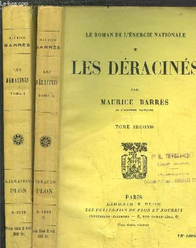 LES DERACINES - TOME I+II