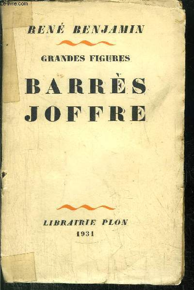 GRANDES FIGURES - BARRES JOFFRE