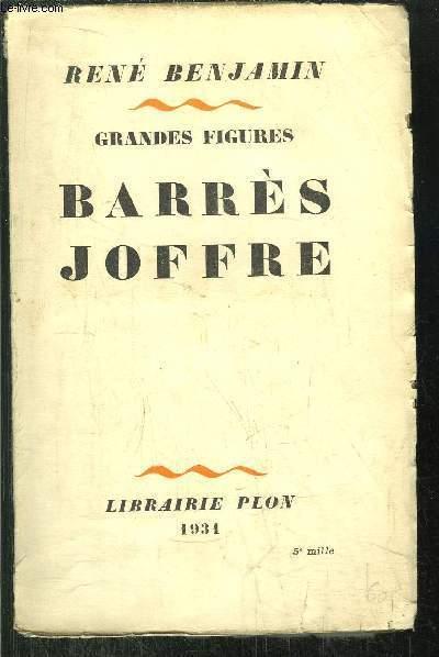 GRANDES FIGURES BARRES JOFFRE