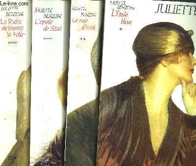 LE BOITEUX DE VARSOVIE- 4 VOLUMES - TOME I+II+III+IV- L'ETOILE BLEUE - LA ROSE D'YORK - L'OPALE DE SISSI - LE RUBIS DE JEANNE LA FOLLE