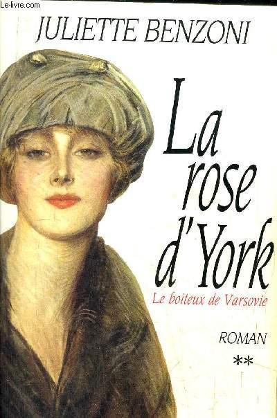 LE BOITEUX DE VARSOVIE - LA ROSE D'YORK
