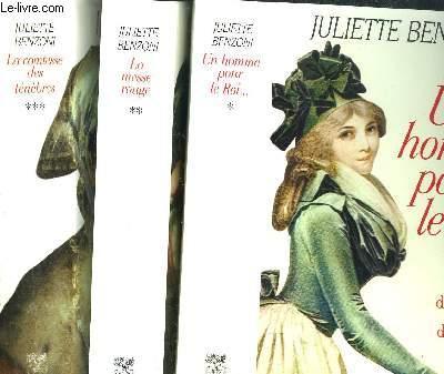 LE JEU DE L'AMOUR ET DE LA MORT- TOME I+II+III - UN HOMME POUR LE ROI... - LA MESSE ROUGE - LA COMTESSE DES TENEBRES