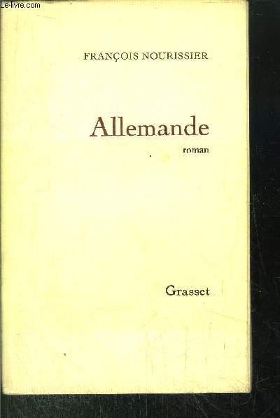 ALLEMANDE