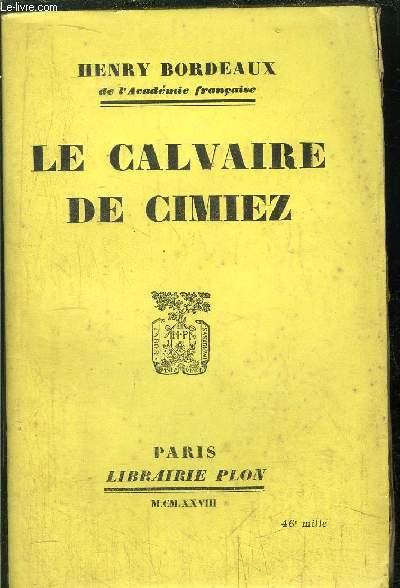 LE CALVAIRE DE CIMIEZ