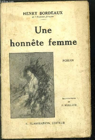 UNE HONNETE FEMME