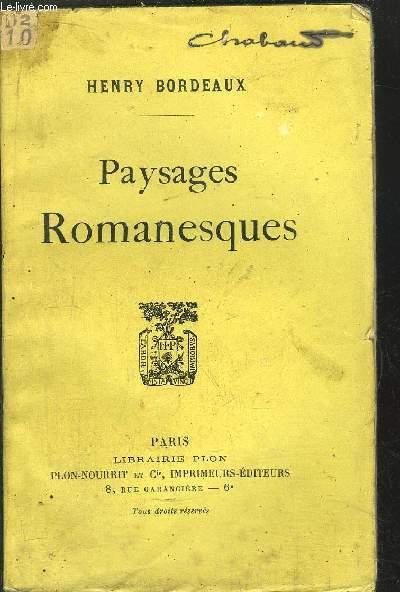 PAYSAGES ROMANESQUES