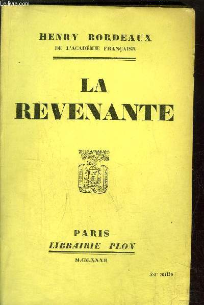 LA REVENANTE