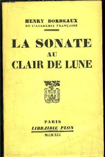 LA SONATE AU CLAIR DE LUNE