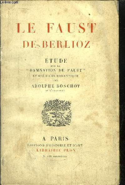 LE FAUST DE BERLIOZ