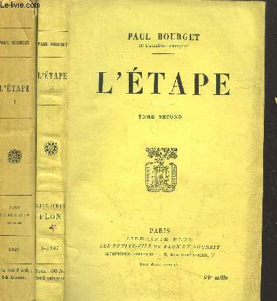 L'ETAPE - 2 VOLUMES - TOME I+II