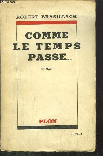 COMME LE TEMPS PASSE...