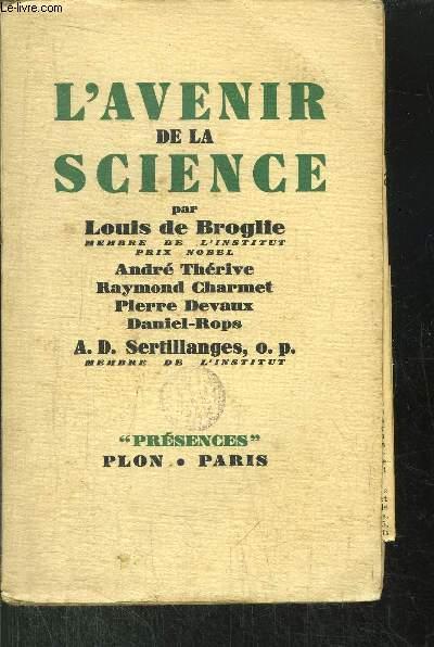 L'AVENIR DE LA SCIENCE