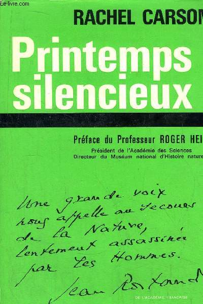 PRINTEMPS SILENCIEUX