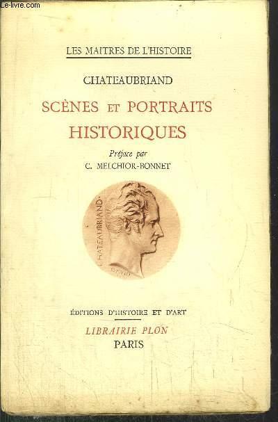 SCENES ET PORTRAITS HISTORIQUES