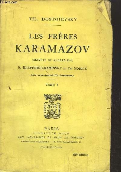 LES FRERES KARAMAZOV - TOME I