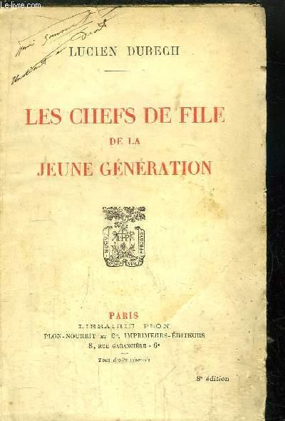 LES CHEFS DE FILLE DE LA JEUNE GENERATION
