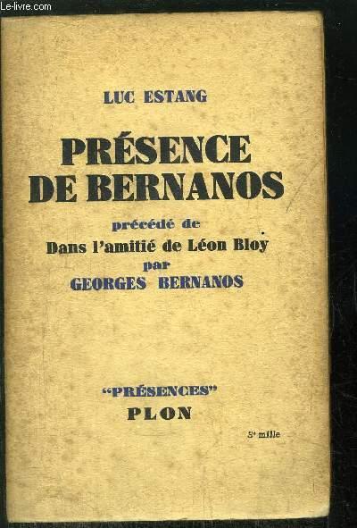 PRESENCE DE BERNANOS