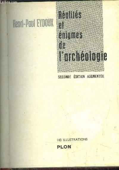 REALITES ET ENIGMES DE L'ARCHEOLOGIE