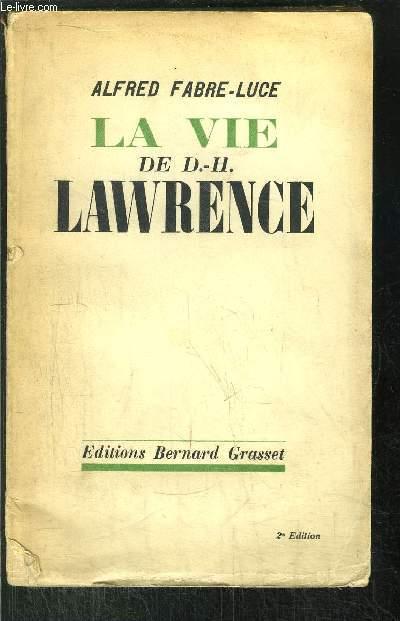 LA VIE DE D.-H. LAWRENCE