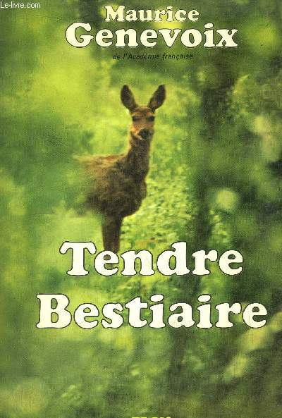 TENDRE BESTIAIRE