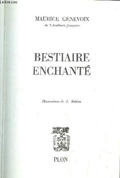 BESTIAIRE ENCHANTE