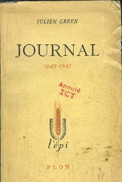 JOURNAL 1943-1945
