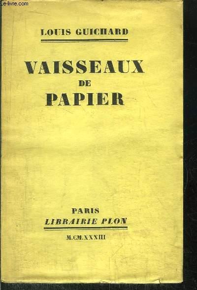 VAISSEAUX DE PAPIER
