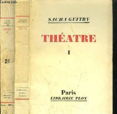 THEATRE - 2 VOLUMES - TOMES I+II - Sommaire : Jean de la Fontaine - Un soir, quand on est seul - Monsieur Prud'homme a-t-il vécu ? - Un homme d'hier et une femme d'aujourd'hui -  Je t'aime - Pasteur - Le renard et la grenouille - La jalousie ...