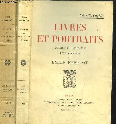 LE LIVRES ET PORTRAITS - TOMES 2 ET 3