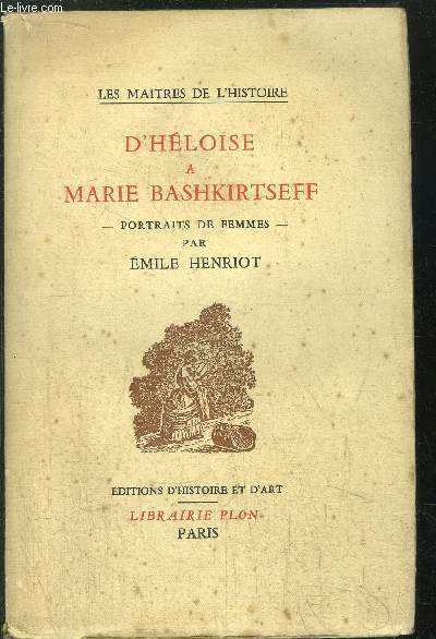D HELOISE A MARIE BASHKIRTSEFF - PORTRAITS DE FEMMES