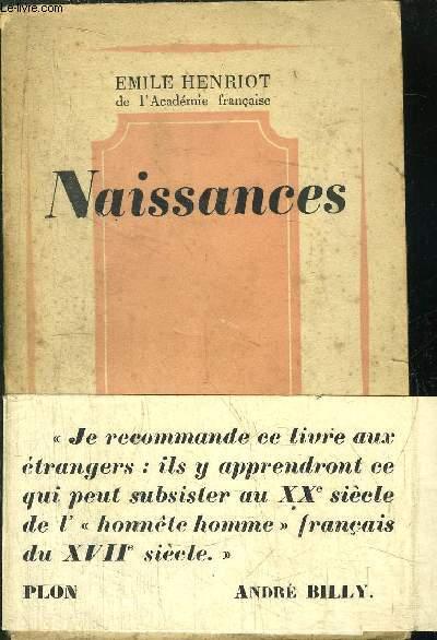 NAISSANCES