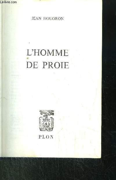 L'HOMME DE PROIE