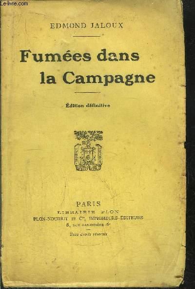 FUMEES DANS LA CAMPAGNE