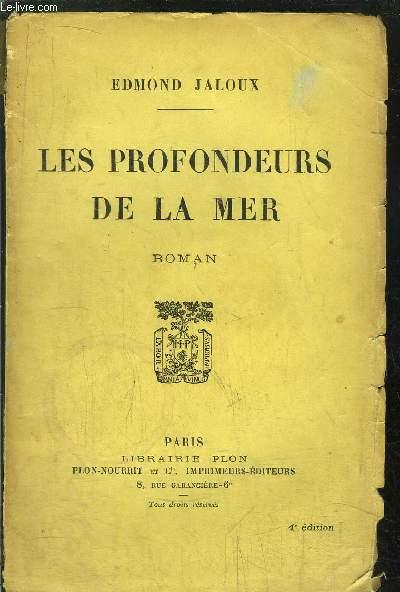 LES PROFONDEURS DE LA MER
