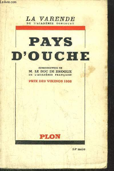PAYS D'OUCHE 1740-1933